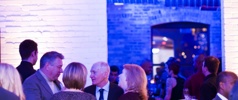 Kinross Gold Corp celebrates Winter Blues Party at The Burroughes